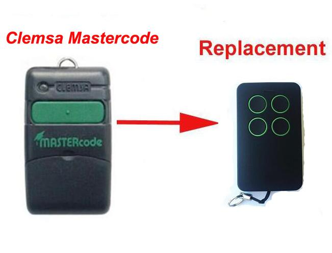 5pcs Clemsa Mastercode MV1 compatible Cloning Remote Control 433MHz free shipping clemsa mastercode mv1 compatible remote control 433mhz free shipping
