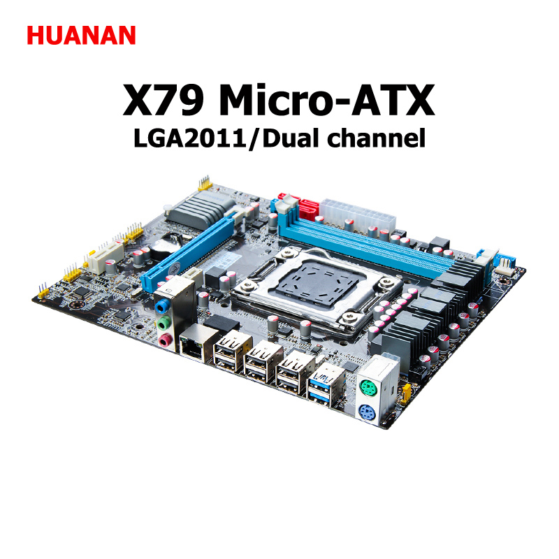 все цены на HUANAN X79 motherboard micro-ATX X79 LGA 2011 motherboard HUANAN mainboard support REG ECC double channels 3 years warranty онлайн