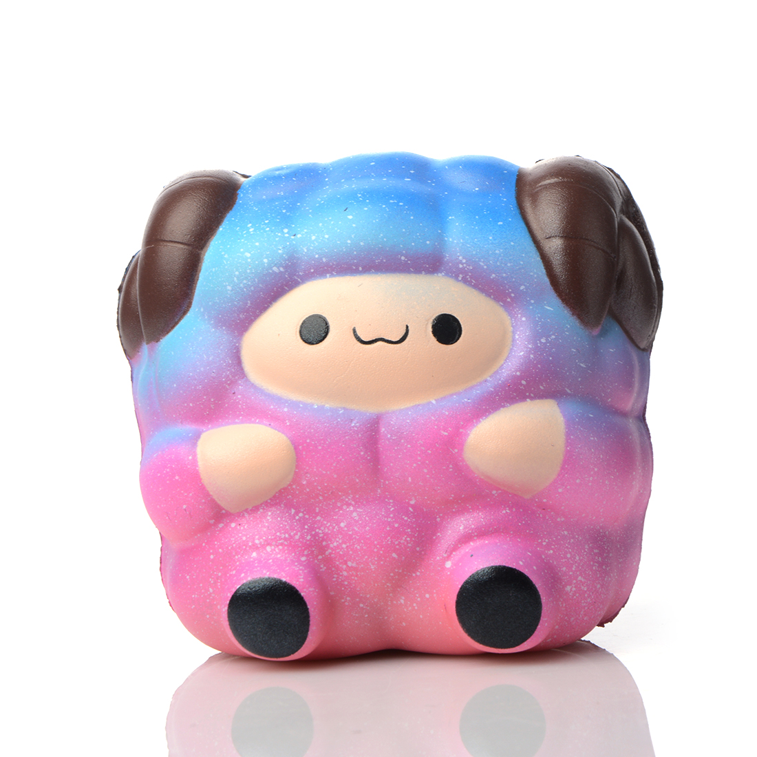 Cute11CM Kawaii Cute Sheep Soft Squishy Slow Rising Decor Collection Squeeze Scented Hand Pinch Funny Toys Animal Kid Toys Gift