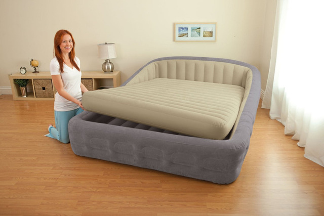 Intex 67972 King Size Inflatable Bed With Electric Air