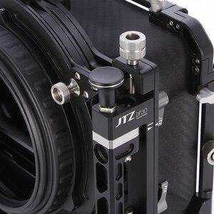 "Image 3 - JTZ DP30 Cine Carbon Fiber 4x5.65 ""Matte Box 15mm/19mm Voor Sony ARRI ROOD CANON A7 A7R A7RS A7RSIII GH4 GH5 GH6 A6500 FS7"