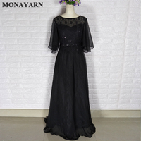 Free Shipping Mother Of The Bride Cosplay With Half Sleeve Resmi Dress Wedding Party OF Mae