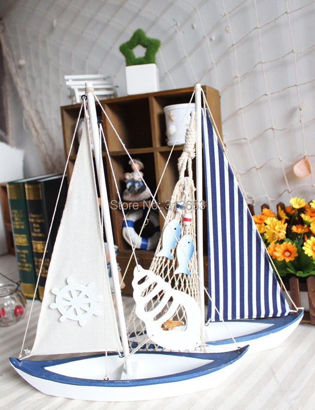 New arrival Wooden craft sailboat home office furniture decorations /business gift/souvenir gift(41x33cm)-free shipping