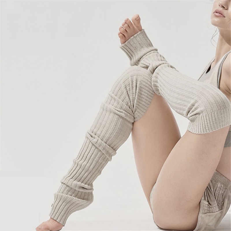 Titmsny Winter Extra Long Boot Over The Knee Knit Dance Adult Leisure Long Tights Thigh High Leg Warmer for Women