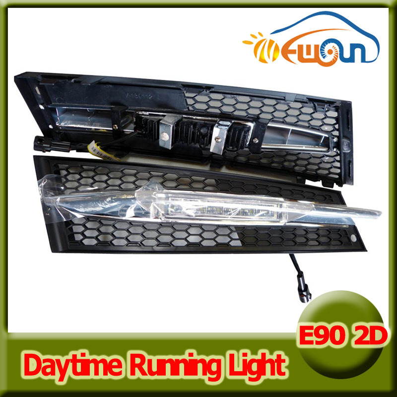 6 LED 12W Led Daytime Running Light DRL Dimmable for BMW E92 2D Auto Car Driving Front Fog light daylight Lamp Signal lights brand new set led drl daytime running daylights for bmw f25 x3 2010 2014 front driving bumper fog lights dimmable drl lamp