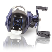 Left Right Hand 7.2:1 Bait cast Reel 15 1 Bearing Large Line Capacity Bait Casting  fishing Reels Carretilha Pesca