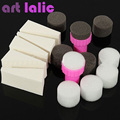 15 Pcs / Set nail art Polish Stamping Gradual Stamper Change Brushes Sponge 1set white black sponge stamper nail art tool kit