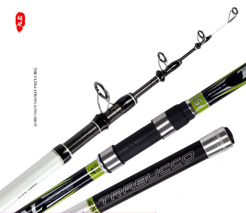 4.0M SIC guides 150g lure weight long casting telescopic fishing rod beach far shot distance throwing carbon rod fishing tackle super value3 6 3 9 4 2 4 5m c wt 100 150g telescopic fishing distance throwing rod yn jcs fishing tackle