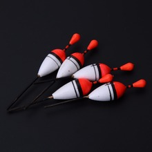 15pcs Light & Durable Plastic Vertical Buoy Sea Fishing Floats Attachment Rubbers Professional Fishing Floats Tackles Kit