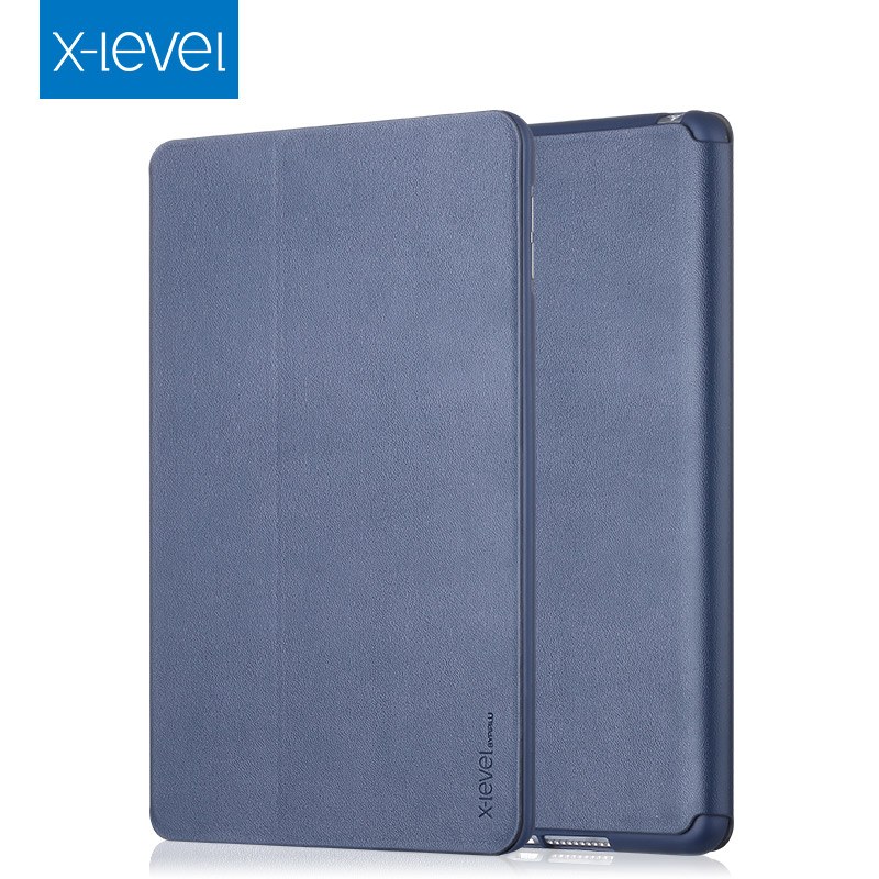 X-Level Ultra Thin Shockproof Smart Auto Sleep/Wake Up Flip PU Leather+TPU Stand Cover Case For iPad mini 1/2/3 Retina Shell nice soft silicone back magnetic smart pu leather case for apple 2017 ipad air 1 cover new slim thin flip tpu protective case