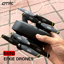 RC Dron otrc m107 Mini Foldable Selfie Drone with Wifi FPV 0.3MP or 2MP 4K Camera Altitude Hold Quadcopter rc drones hd