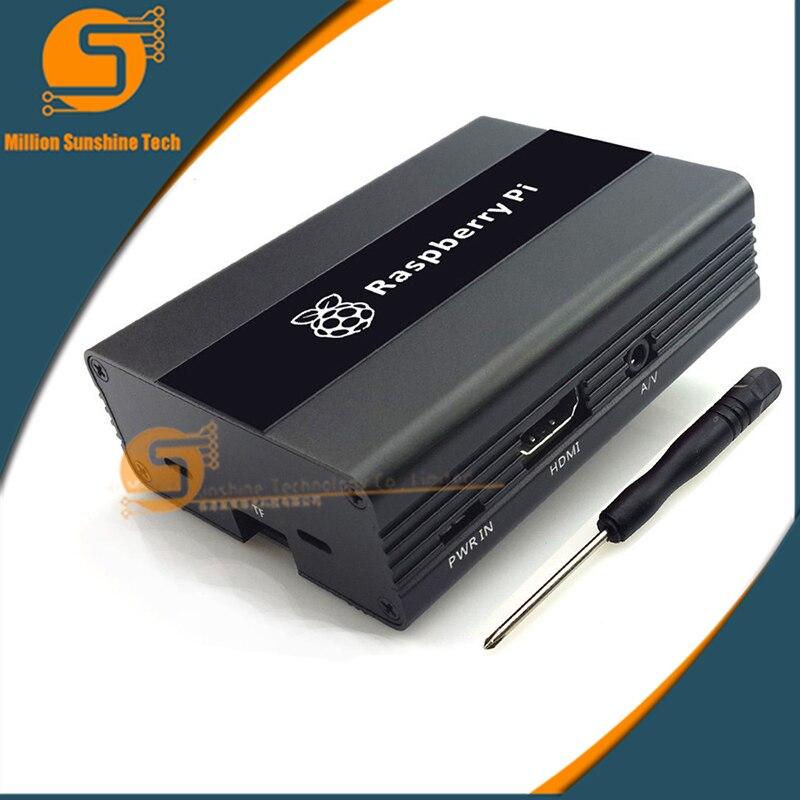 Raspberry Pi Aluminum Shell Raspberry Pi 3 Metal Protection Box For Raspberry Pi 3B/3B+