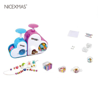 1 PC DIY Multi color Assorted PVC Beads Kit Set for Craft Decoration Jewelry Bracelet Necklaces Girls Kids