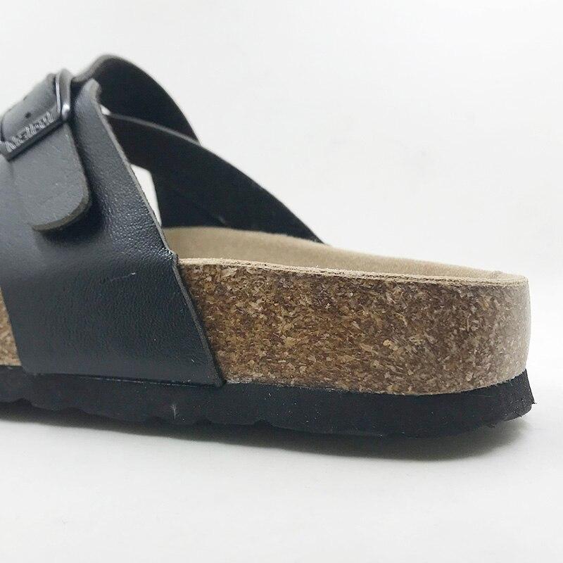 Новый 2018 плюс Размер 4-11 Летняя стильная обувь Ортопедические женские сандалии Пробковые босоножки хорошее качество Повседневные шлепанцы ...