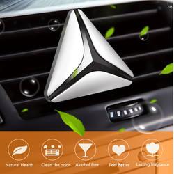 Новый роскошный треугольник здоровый безвредный автомобильный освежитель ароматный деревянный автомобильный парфюм воздуха Зажимная
