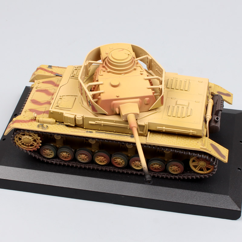 1:48 Scale kids mini New Millennium toys Classic Armor World War 2 WWII German Tank Panzer IV Ausf diecast model for collection mini world mn202