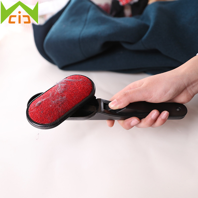 Magic Lint Dust Brush Pet Hair Remover Clothing Dry Cleaning with Rotatable Brush Easy Clean Tools Clothes Static Brush