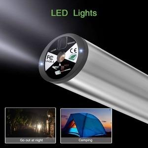 Image 3 - Fineed空気圧縮機ミニ電動エアーポンプ150 psi 12v電気自動車自転車パンプスタイヤ圧力ゲージledライト