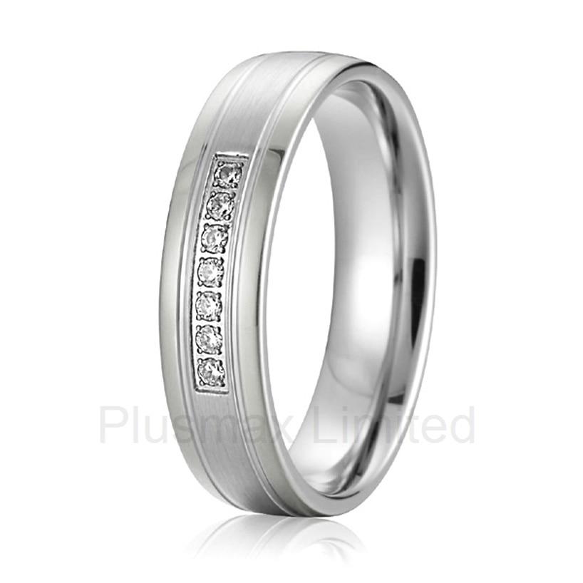 2016 chine fournisseur bon ami cadeau femme mode bijoux pur titane anneaux de mariage