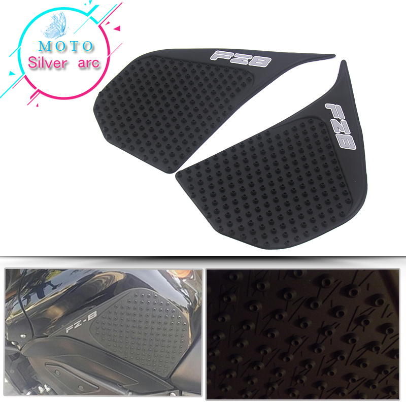 For Yamaha FZ800 <font><b>FZ</b></font>-8N FZ8 N/S FZ8N 2010-2016 2015 14 Protector Anti slip Tank Pad <font><b>Sticker</b></font> Gas Knee Grip Traction Side 3M Decal image