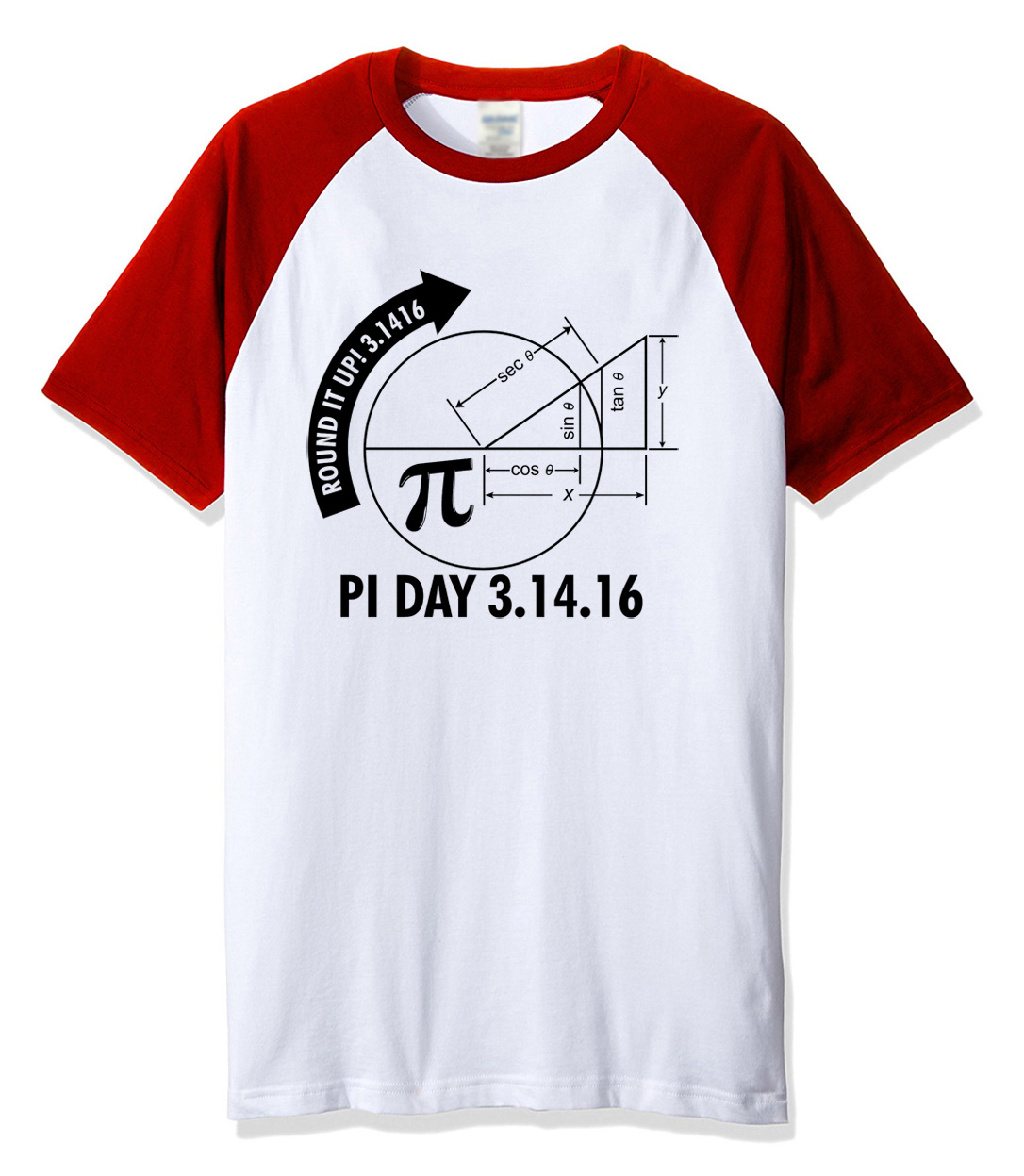 Hot 2018 summer tshirt Pi Day 3.1416 Round It Up Math Graph STEM t-shirt harajuku streetwear fitness clothes raglan t shirt men