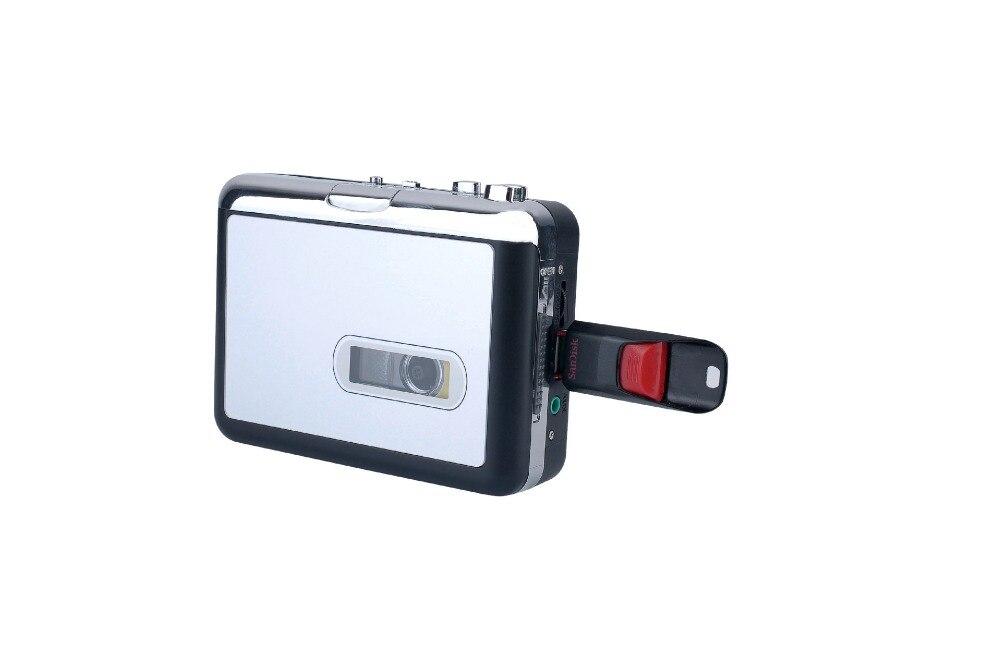 REDAMIGO USB MP3 cassette capture to MP3 USB Cassette Capture Tape without PC,USB Cassette to MP3 Converter Cassette-to-MP3 E231