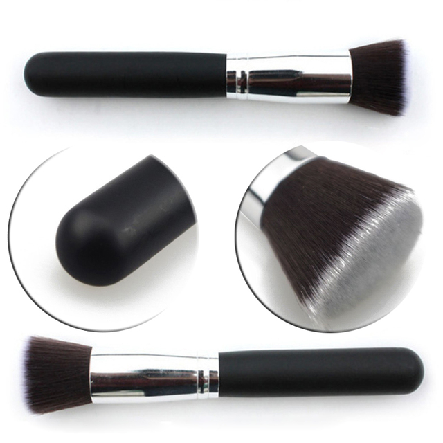 1 pcs Hot Cosmetic Makeup Brushes Tools Powder Blush Foundation Flat Top Make Up Professional Accessories Makeup Brushes