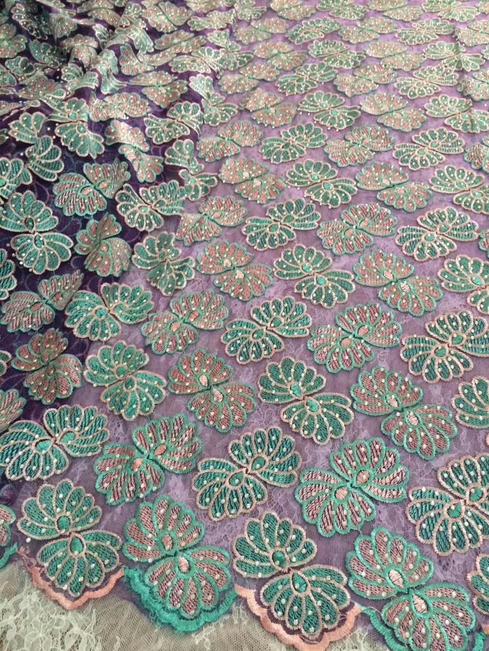Nijeryalı dantel kumaş S-82811 tam taşlar ile yüksek kalite afrika gipür dantel kumaş gelinlik için