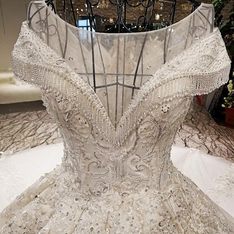AIJINGYU Trouwjurken Collectie Eenvoudige Bruidsjurken Ivoor Beste Sexy Goedkope Uk Gown Plus Size Moslim Trouwjurk - 2