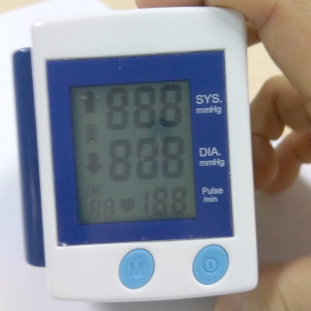 Health Care Automatic Digital Wrist Blood Pressure Monitor Meter Cuff Blood Pressure Measurement Health Monitor Sphygmomanometer (12)