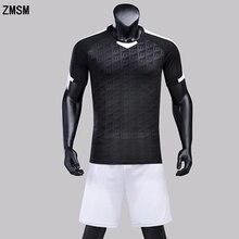 Zmsm niños hasta adultos fútbol kit uniforme de encargo del fútbol traje de entrenamiento  fútbol 2018 a68a6589e83ab