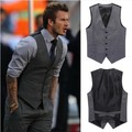 Spring and summer beckham men's clothing slim suit blazer vest male vest sleeveless vest
