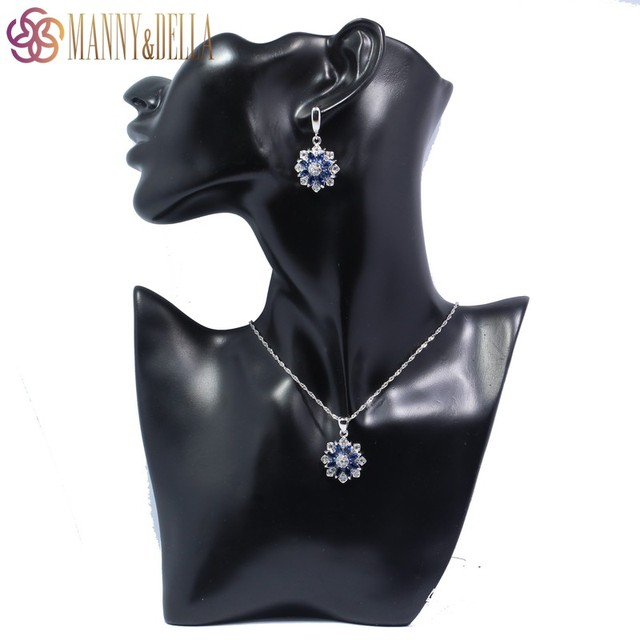 Sterling Silver Jewelry Set For Women