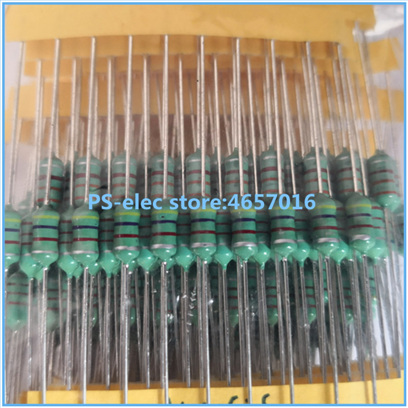 50PCS 0410 Color Ring Inductance 22uH 220K 1//2W Axial RF Choke Coil Inductor CA