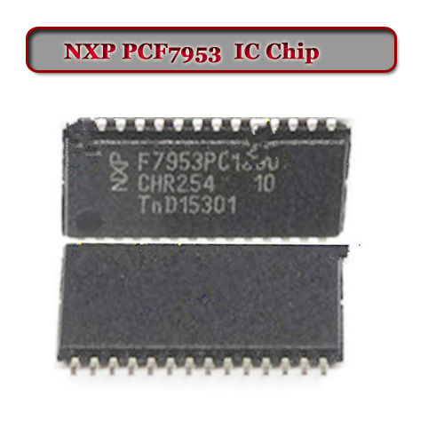 Free shipping PCF7953 transponder IC Chip with good quality(5pcs/lot) free shipping 10pcs lot gal16v8d 15qp gal16v8d 15 integrate circuit ic