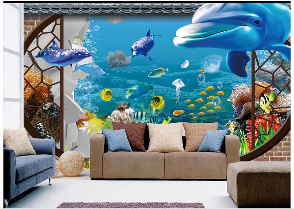 3d Peintures Murales Image Fond D écran Personnalisé Murale