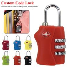 Travle Padlock 3 Digit Combination Code Number Lock For Luggage Zipper Bag Backpack Handbag Suitcase Drawer durable Locks