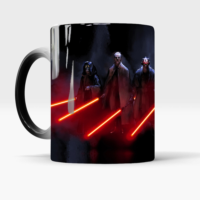 star wars mugs coffee mug friend gifts novelty heat reveal cup heat changing color magic mug tea cups 1