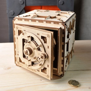 Image 2 - Ukraine UGEARS Wooden Mechanical Transmission Model Adult Assembled Toy Birthday Male Kids Gift Toy