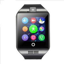 Q18 Aktualisiert ursprüngliche Q18S unterstützung smartwatch Multifonction bluetooth Smart uhren mann uhr für android handys PK U8 DZ09 GT08