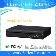 DAHUA 8 Channel 1U 8PoE 4K&H.265 Lite Network Video Recorder Support IPC UPnP Without Logo NVR4208-8P-4KS2