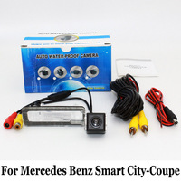 HD Wide Lens Angle Car Camera For Mercedes Benz Smart City Coupe RCA Wire Or Wireless