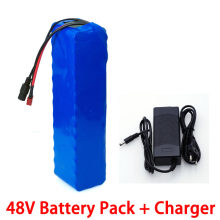 48V 15ah 20ah 26ah Electric bike battery 48V 500W 750W scooter Lithium ion battery with 20A BMS + 54.6V 2A Charger(China)