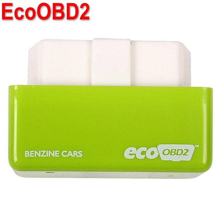 Prix pour Nouvelle Arrivée EcoOBD2 Benzine De Voiture Chip Tuning Box Plug et Lecteur OBD2 Chip Tuning Boîte de Carburant et Moins D'émissions