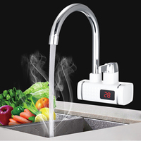 3000W Instant Tankless Electric Hot Water Heater Faucet Kitchen Instant Heating Tap Bathroom Electronic Water Sink Basin Faucets