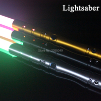 New 15 Types 1 Pcs Cosplay Lightsaber With Light Sound Led Red Green Blue Saber Alloy