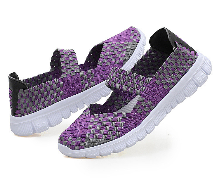 QJ 599-2019 Breathable Women Summer Shoes Fabric Woman Flats-18
