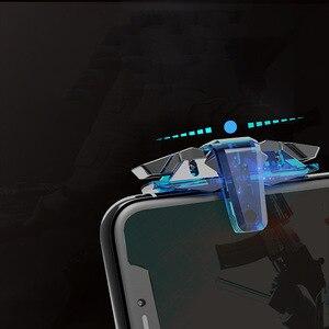 Image 5 - Nouveau X7 Pubg contrôleur Pubg manette Mobile pour téléphone L1R1 poignée avec Joystick/déclencheur L1r1 bouton de visée pour Android IOS