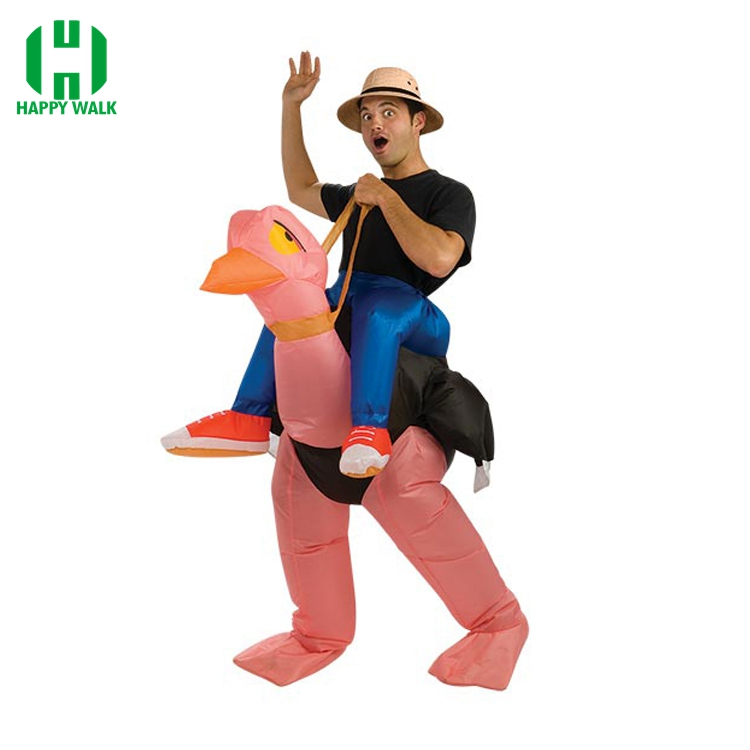 Ostrich Inflatable Costume Carnival Adult Costumes Party Halloween Christmas Gift Classic Halloween Costumes Deguisement Kid