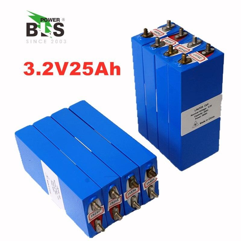 4 pièces 3.2 v LiFePO4 batterie 26Ah rechargeable li polymère cellule pour 12 V 24A batterie pack e-bike UPS convertisseur de puissance HID lumière solaire